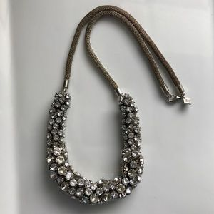LRG BR Rhinestone Statement Necklace